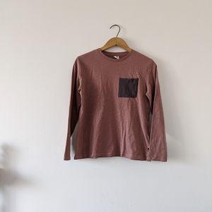 🦔Zara dusty rose long sleeve shirt size 11/12